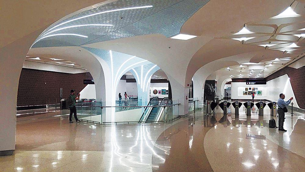 Ακτωρ: Το χρυσό Μετρό του Κατάρ έχει ελληνική σφραγίδα