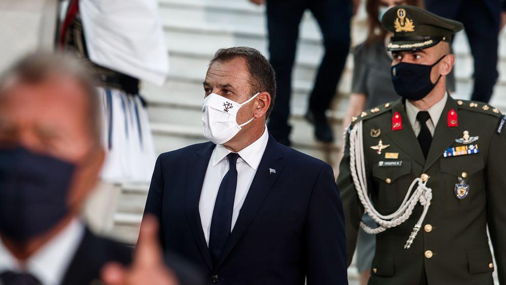 Απάντηση Παναγιωτόπουλου σε Ακάρ: Οι Ένοπλες Δυνάμεις είναι το σπαθί της Ελλάδας