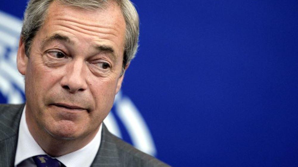Η βρετανική εκλογική επιτροπή θα ερευνήσει τα οικονομικά του Κόμματος Brexit του Φάρατζ