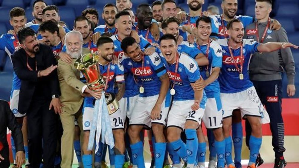 O Παγκόσμιος Οργανισμός Υγείας καταδικάζει τους μαζικούς πανηγυρισμούς στη Νάπολη για την κατάκτηση του κυπέλου ποδοσφαίρου Ιταλίας