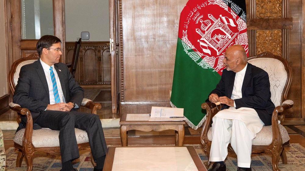 Οι αμερικανικές δυνάμεις δεν θα αποχωρήσουν από το Αφγανιστάν, δηλώνει ο Έσπερ