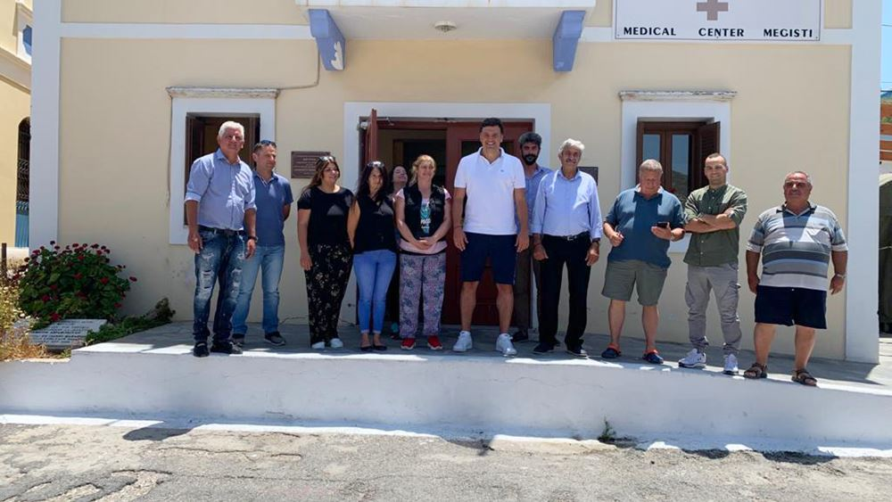 Β. Κικίλιας: Το Καστελόριζο επισκέφθηκε ο υπ. Υγείας