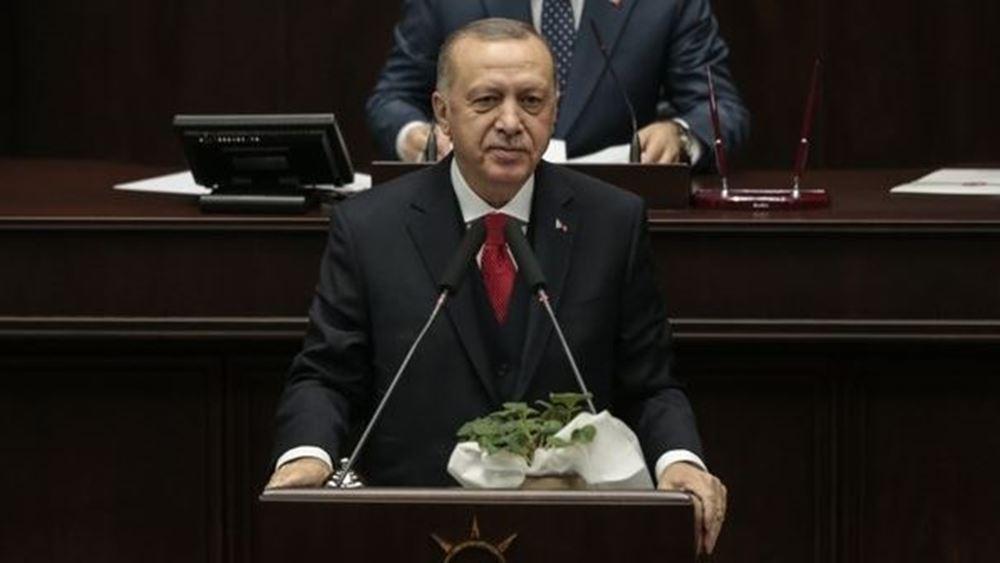 """Ερντογάν: Θα δώσουμε ένα μάθημα στον """"πραξικοπηματία Χαφτάρ"""""""