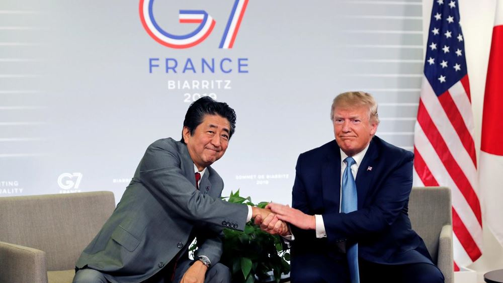 "G7: Οι ΗΠΑ και Ιαπωνία κατέληξαν σε μια ""κατ΄αρχήν"" εμπορική συμφωνία"