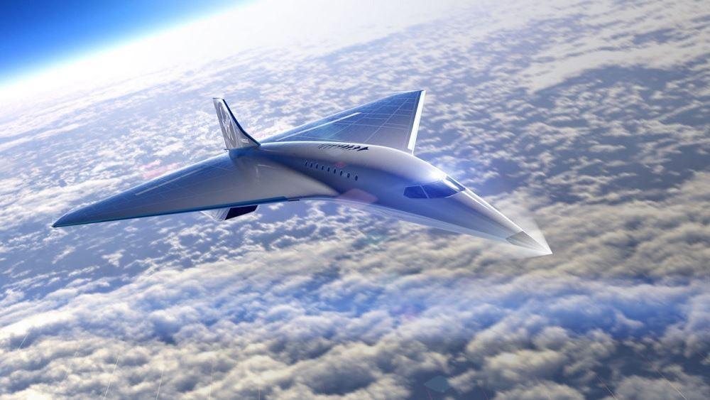 Συνεργασία της Virgin Galactic με τη Rolls-Royce για ανάπτυξη υπερηχητικού αεροσκάφους