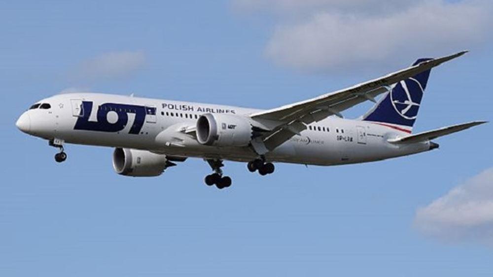 Η πολωνική αεροπορική εταιρεία LOT αναστέλλει τη σύνδεση με το Μινσκ
