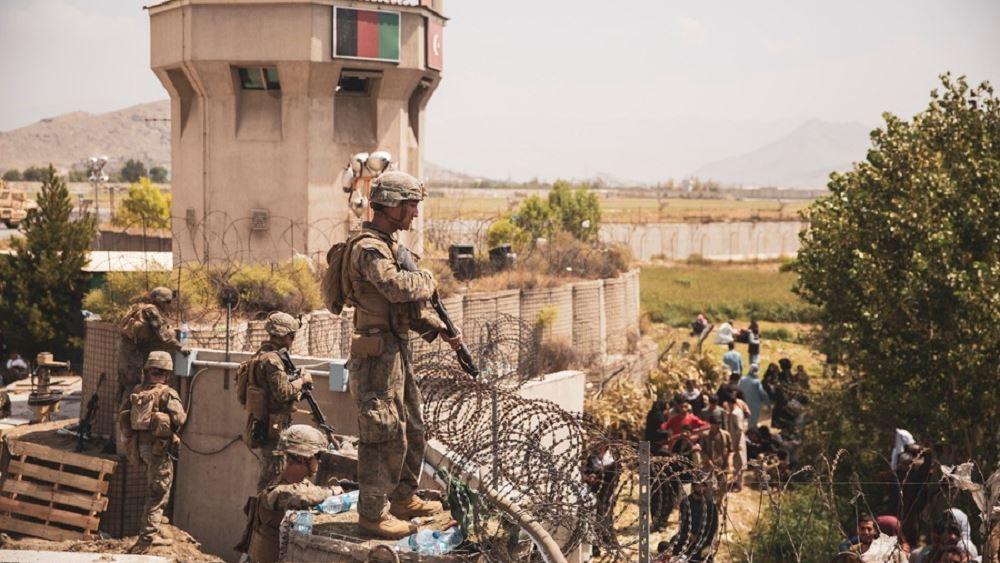ΗΠΑ αεροδρομιο καμπουλ εκκενωση Αφγανισταν