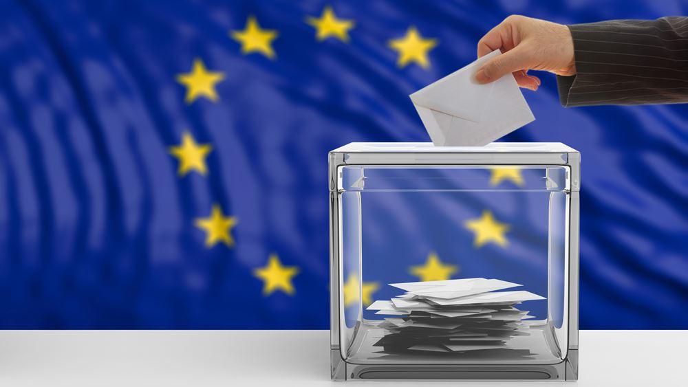 Τα ποσοστά των κομμάτων στις ευρωεκλογές