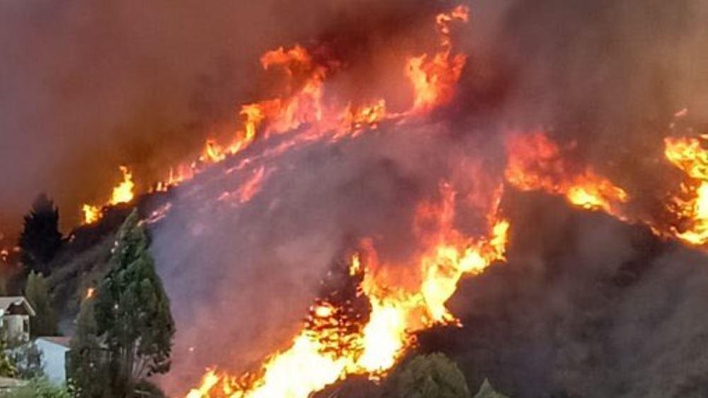 Χιλή: Σχεδόν 2.000 οι άστεγοι από την πυρκαγιά στο Βαλπαραΐσο