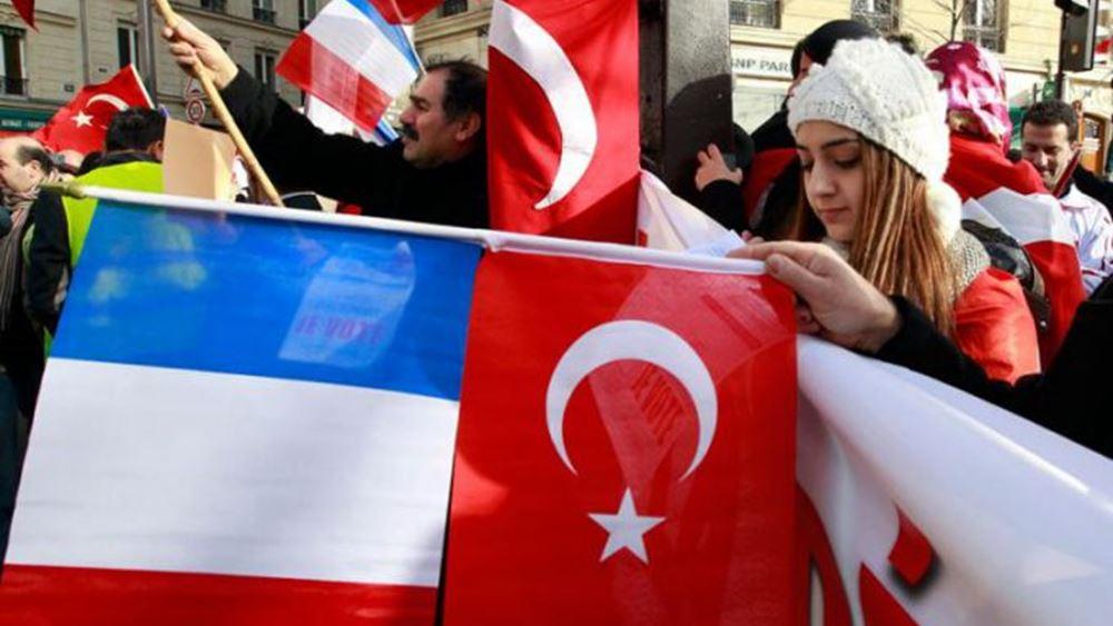 """Οργή Τουρκίας για Μακρόν: """"Απαράδεκτες"""" οι δηλώσεις για απόπειρα ανάμειξης στις γαλλικές εκλογές"""