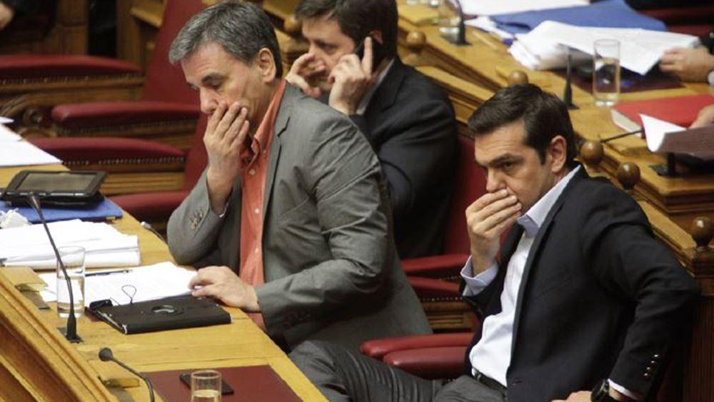 """Αιχμηρή παρέμβαση Τσακαλώτου για ΣΥΡΙΖΑ με """"βέλη"""" σε προεδρικούς αλλά και Τσίπρα"""