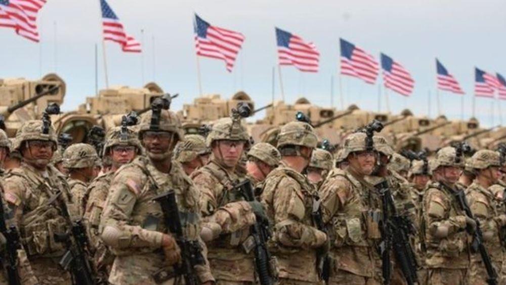 ΗΠΑ: Στο Ιράκ μεταφέρονται οι αμερικανικές δυνάμεις της Συρίας
