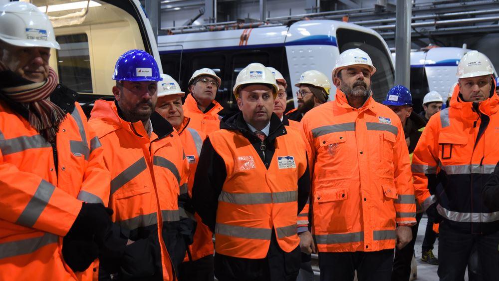 Με εντατικούς ρυθμούς προχωρούν οι εργασίες στο Μετρό Θεσσαλονίκης