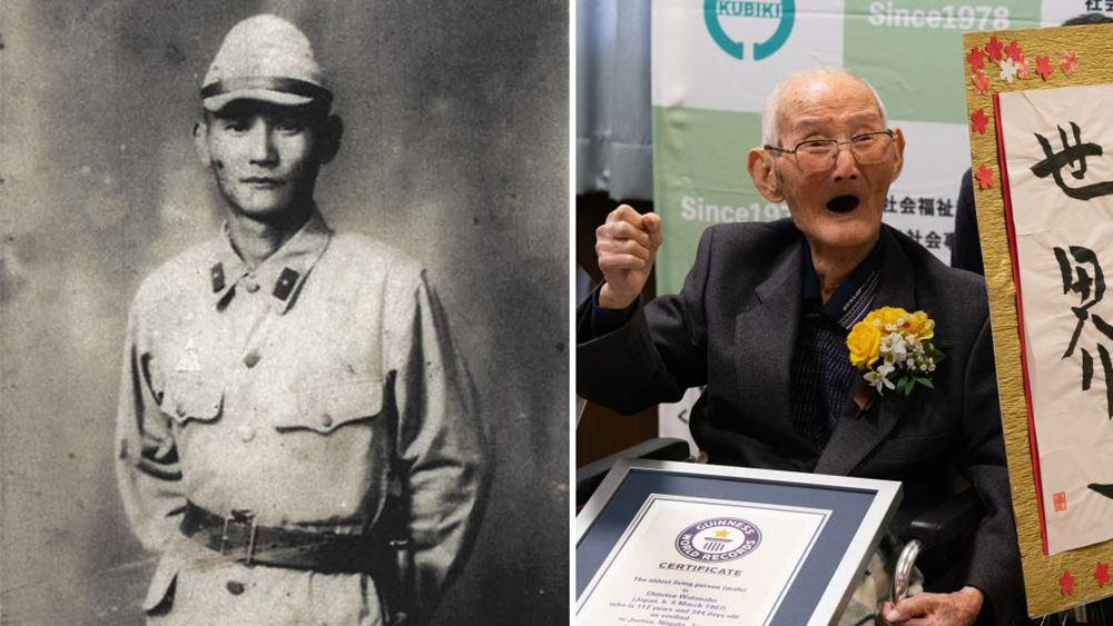 Ένας Ιάπωνας ηλικίας 112 ετών ανακηρύχθηκε ο γηραιότερος εν ζωή άνδρας στον κόσμο