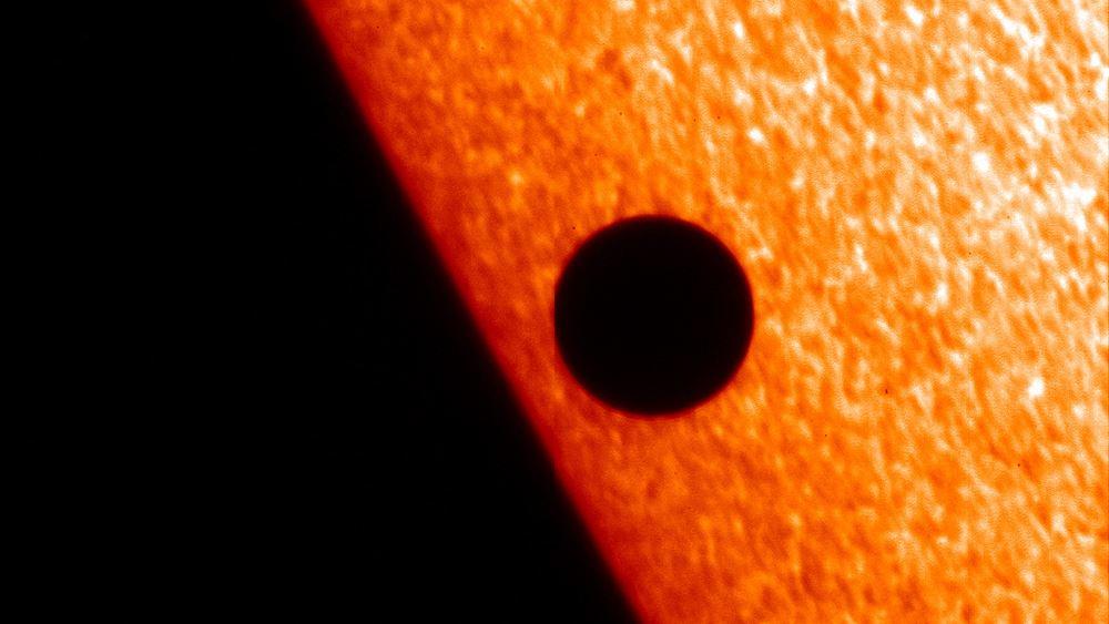 Σπάνια διάβαση του Ερμή μπροστά από τον Ήλιο τη Δευτέρα