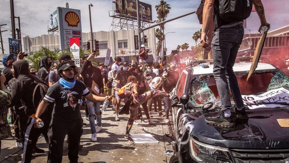 ΗΠΑ: Οι διαδηλώσεις συνεχίζονται, παρά τις απειλές του προέδρου Ντόναλντ Τραμπ