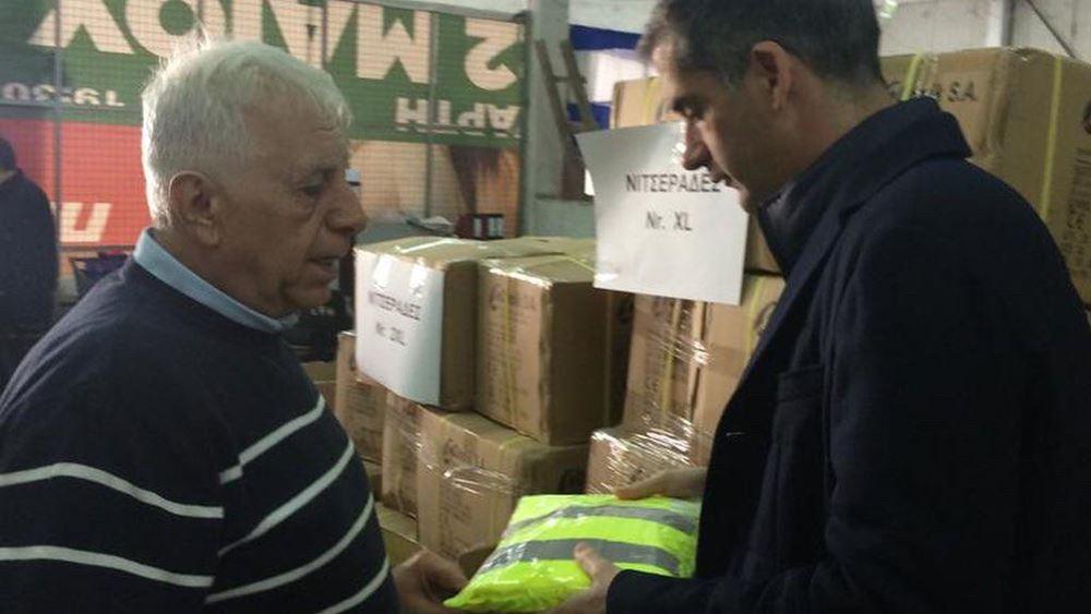 Νέες στολές και άλλα σύγχρονα μέσα ατομικής προστασίας για τους εργαζόμενους στον δήμο Αθηναίων