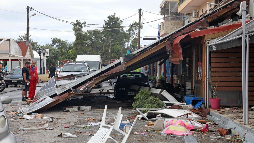 Χαλκιδική: Τα δεδομένα σχετικά με την αντιμετώπιση των ζημιών