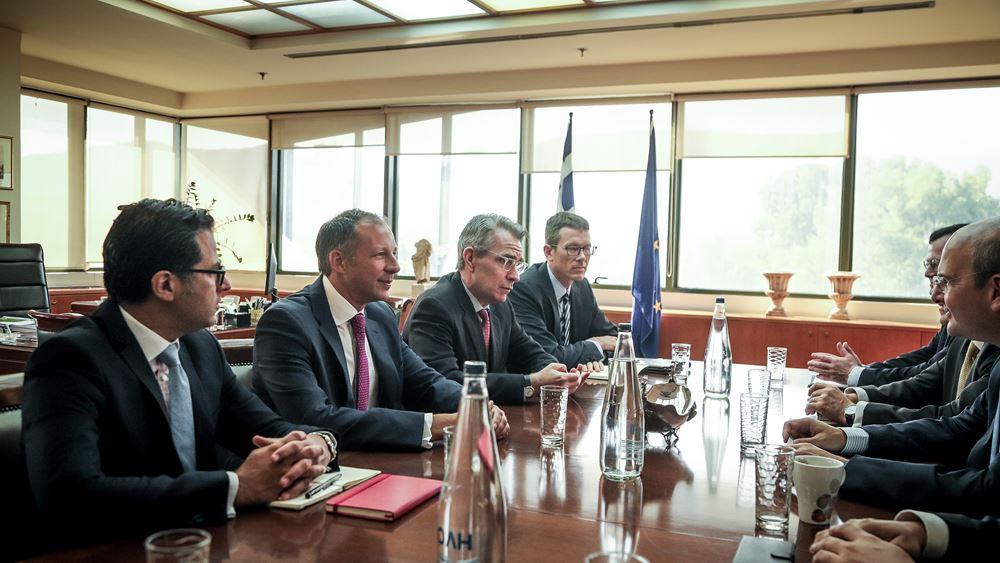 "O East Med στο ""τραπέζι"" - Ολοκληρώθηκε η ενεργειακή υπουργική διάσκεψη Ελλάδας-Κύπρου-ΗΠΑ-Ισραήλ"