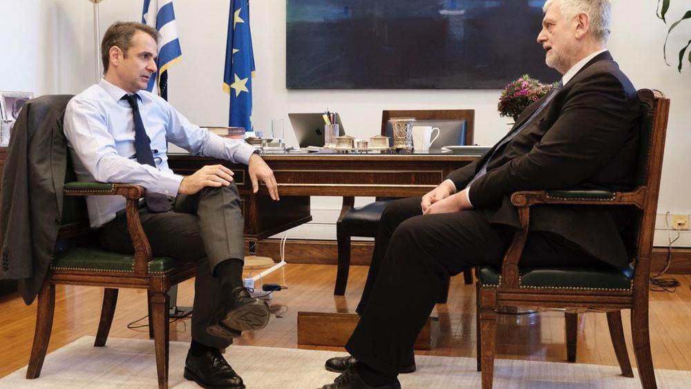 Την υποψηφιότητα του δημοσιογράφου, Γιάννη Λοβέρδου, ανακοίνωσε η ΝΔ