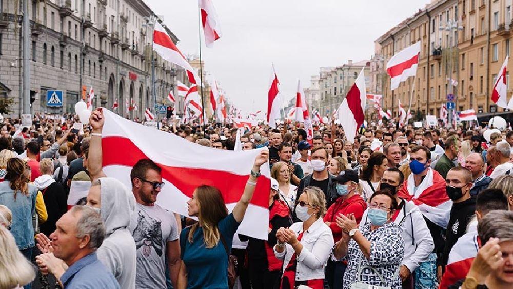 Συμβούλιο της Ευρώπης: Καλεί τη Λευκορωσία να ξεκινήσει διάλογο για ειρηνική λύση της υφιστάμενης κρίσης