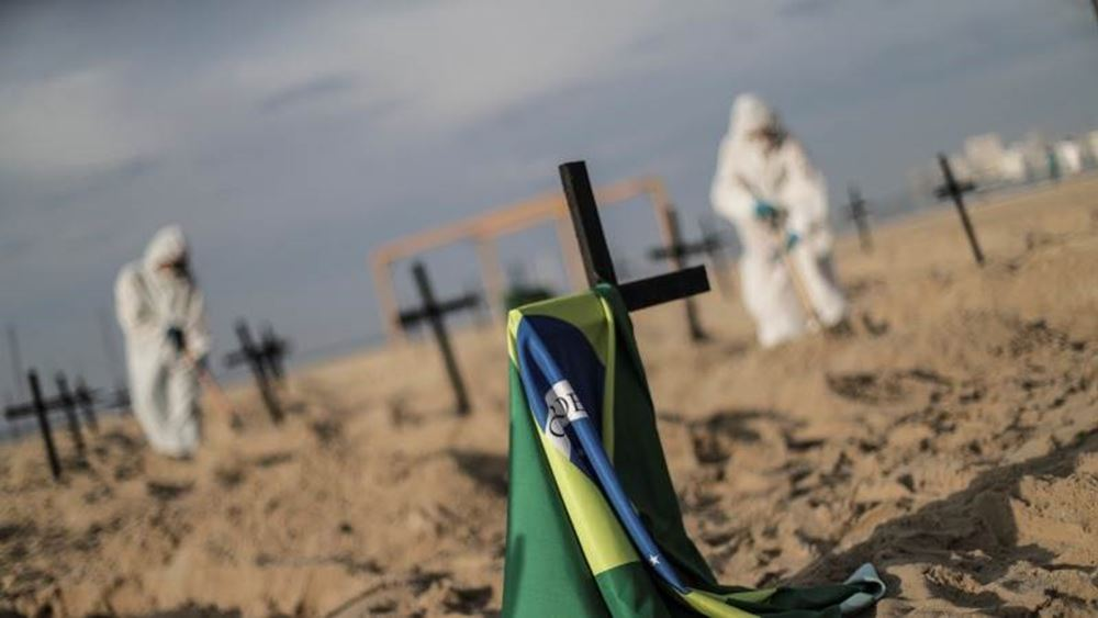 Βραζιλία: 1.555 θάνατοι και σχεδόν 70.000 κρούσματα κορονοϊού το τελευταίο 24ωρο
