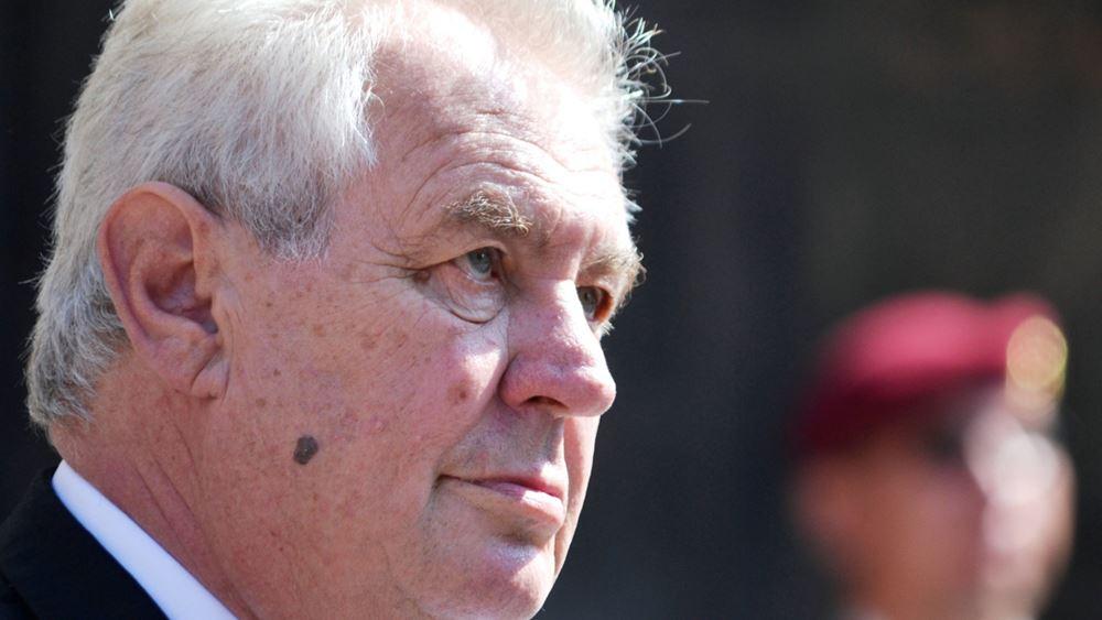 Αίτημα ανάκλησης της αναγνώρισης του Κοσόβου προανήγγειλε ο Πρόεδρος της Τσεχίας
