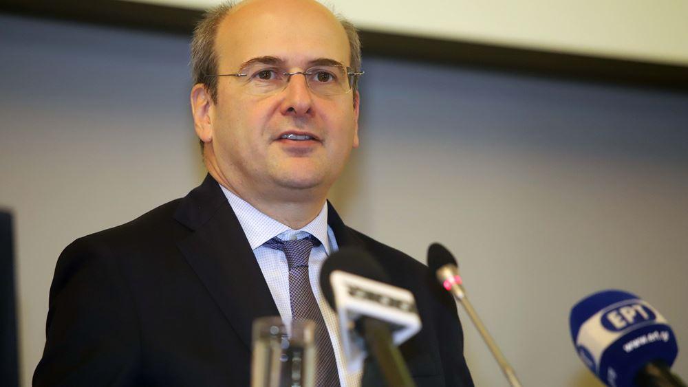 Κ. Χατζηδάκης: Δεν εφησυχάζουμε διότι τα δύσκολα είναι μπροστά
