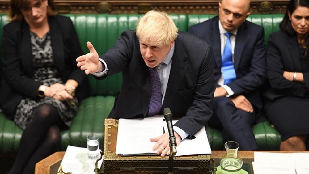 Υπόσχεση Τζόνσον για Brexit τον Ιανουάριο