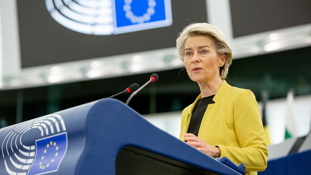 Φον ντερ Λάιεν: Η ΕΕ έχει παραδώσει αρκετές δόσεις εμβολίων για να εμβολιαστεί το 70% του ενήλικου πληθυσμού
