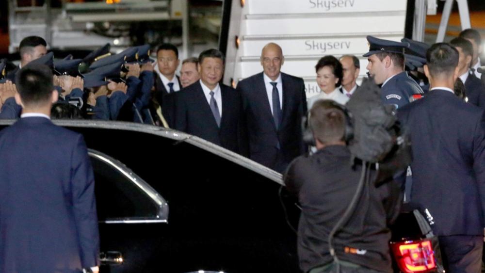 """Δένδιας: """"Με μεγάλη χαρά υποδέχθηκα τον Πρόεδρο της Κίνας"""""""