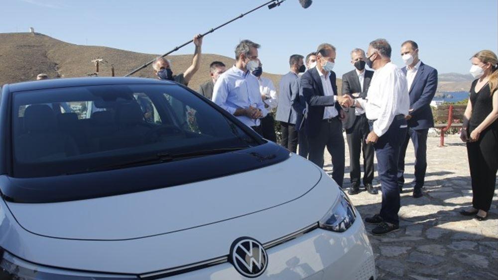 Der Spiegel: Εργαστήριο πράσινης ηλεκτρικής ενέργεια η Αστυπάλαια με τη βοήθεια της VW και της ελληνικής κυβέρνησης