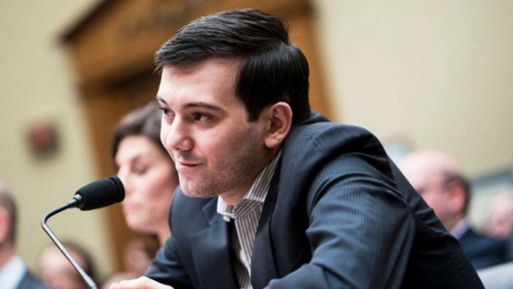 O 'Pharma Bro' Martin Shkreli ζητά να αποφυλακιστεί για να βρει θεραπεία για τον κορονοϊό