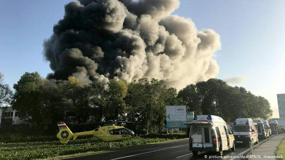 Αυστρία: Πέντε τραυματίες από έκρηξη στην πόλη Λιντς