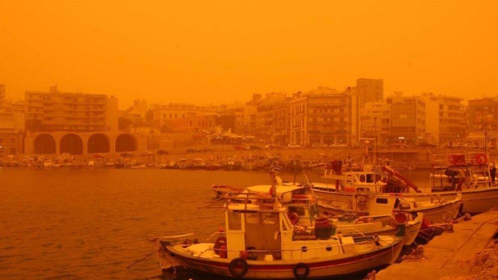 Meteo: Αφρικανική σκόνη και λασποβροχές φέρνει η νέα κακοκαιρία