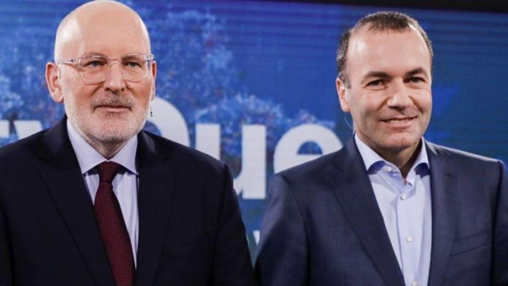 FT: Τίμερμανς για πρόεδρος της Ευρ. Επιτροπής, Βέμπερ για πρόεδρος του Ευρ. Κοινοβουλίου