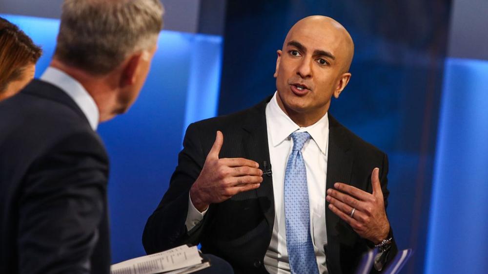 Kashkari της Fed: Δεν μπορεί ακόμη να αξιολογήσει την επιβράδυνση της ανάπτυξης στις ΗΠΑ