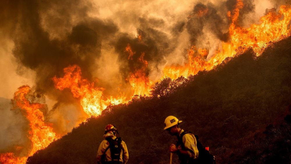 Καλιφορνια πυρκαγιες 20.08.2020