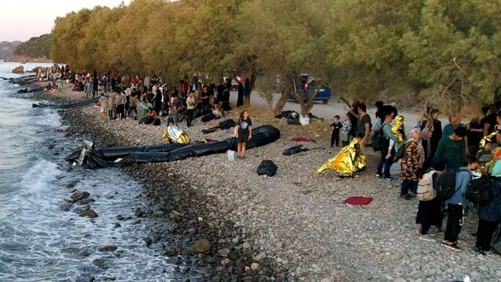 Λέσβος: Αφίξεις 703 προσφύγων-μεταναστών απ' τα μεσάνυχτα της Τρίτης