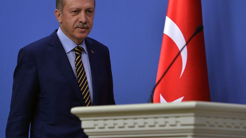 "Erdogan: Η Τουρκία δεν θα υποκύψει στον ""εκβιασμό"" των ΗΠΑ"