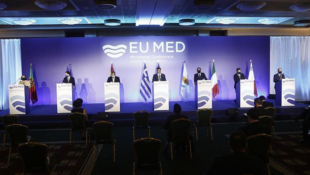 Med7: Κοινή διακήρυξη με ξεκάθαρο μήνυμα προς την Τουρκία