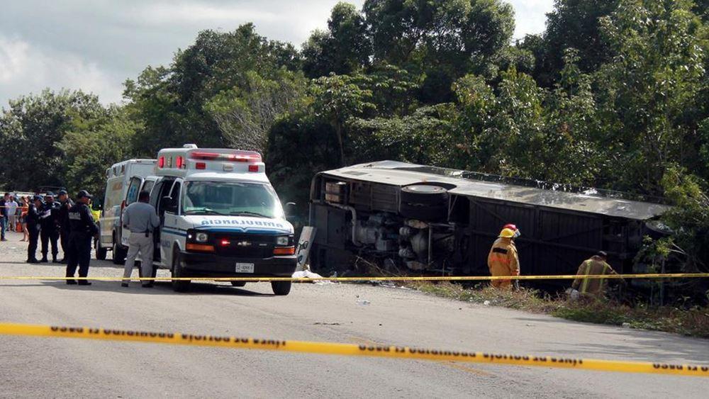 Μεξικό: 11 νεκροί σε δυστύχημα με λεωφορείο