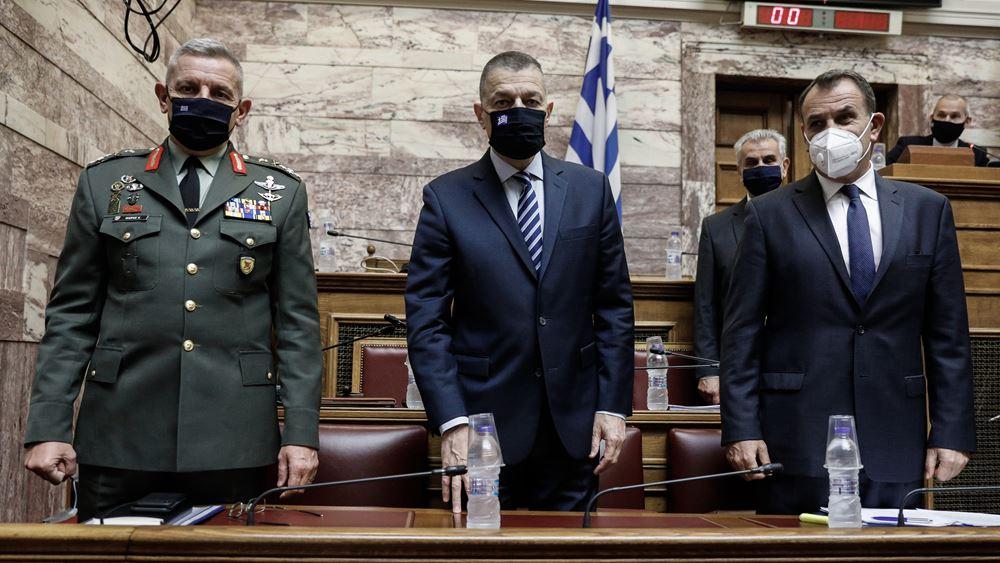 Ο ΥΕΘΑ Ν. Παναγιωτόπουλος ενημέρωσε την Επιτροπή Εξοπλισμών για την προμήθεια των Rafale