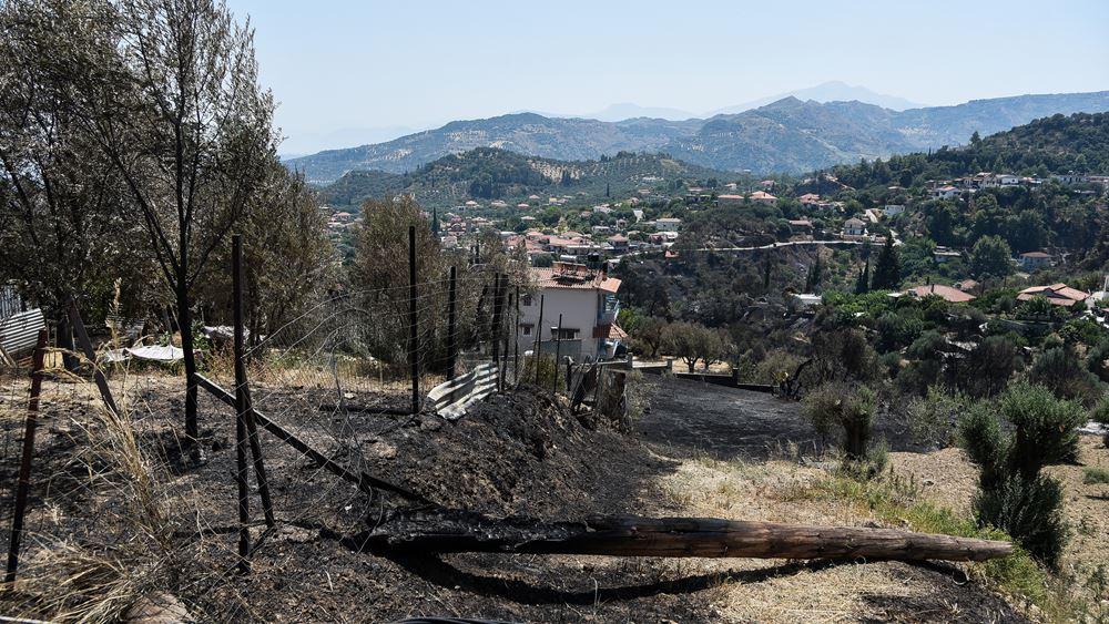 Αύξηση 26% του αριθμού των πυρκαγιών και 450% της καμένης έκτασης στην Ελλάδα φέτος