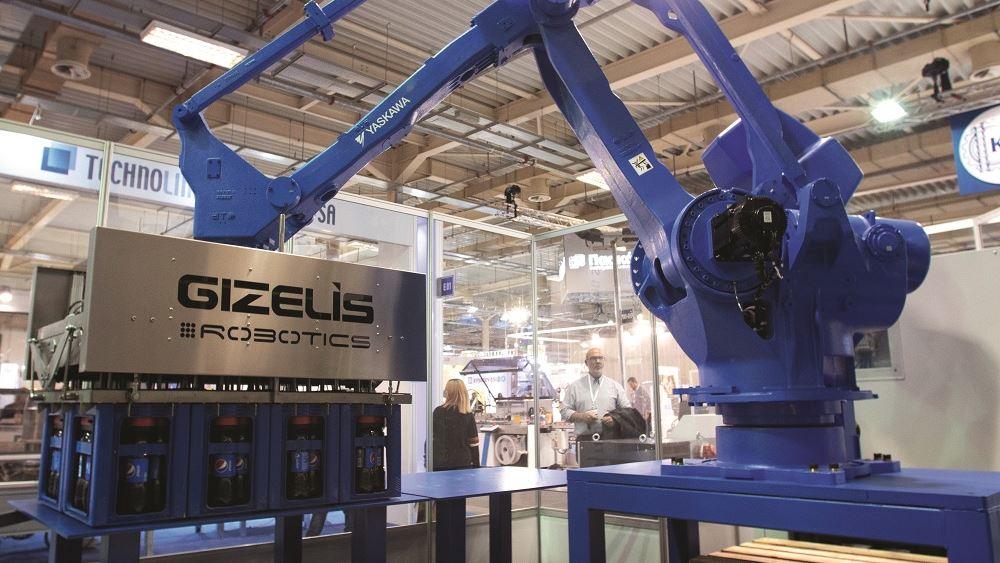 Η Gizelis Robotics δίνει τον παλμό του βιομηχανικού smart factory με ρομποτική τεχνολογία