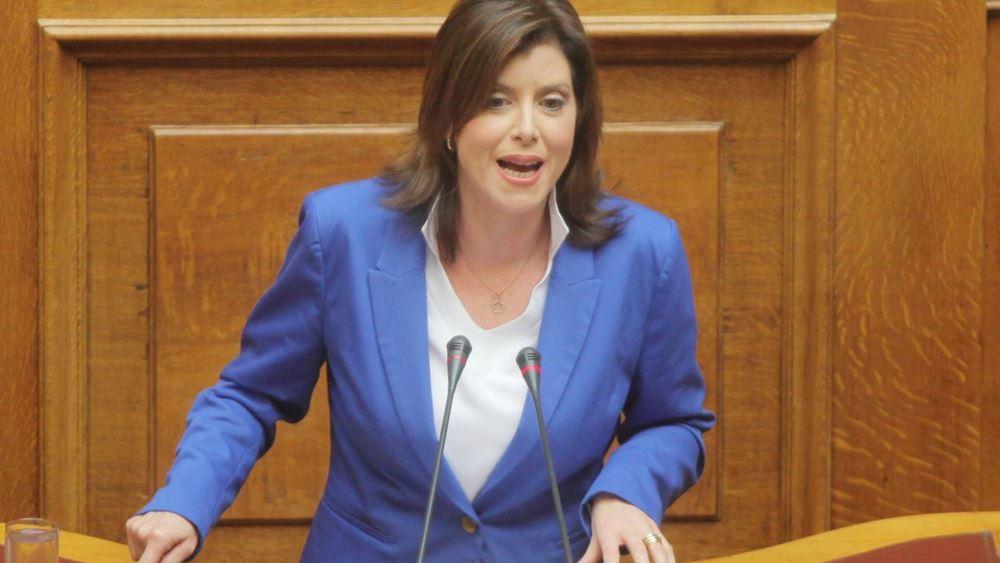 """Ασημακοπούλου: """"Κυβέρνηση Τσίπρα: Ανικανότητα με ψηφιακή υπογραφή!"""""""