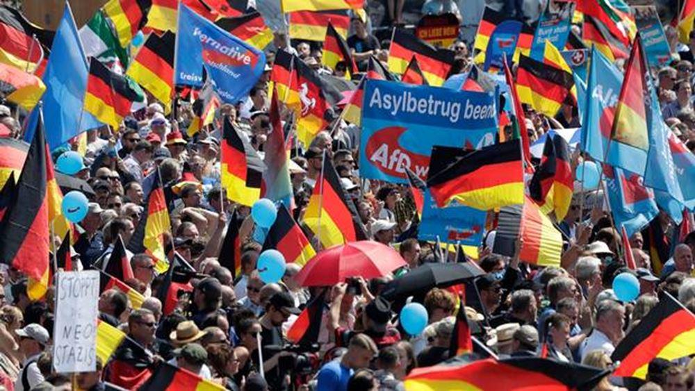 Γερμανία: Στο 17% το ποσοστό του ακροδεξιού AfD, νέο ιστορικό υψηλό