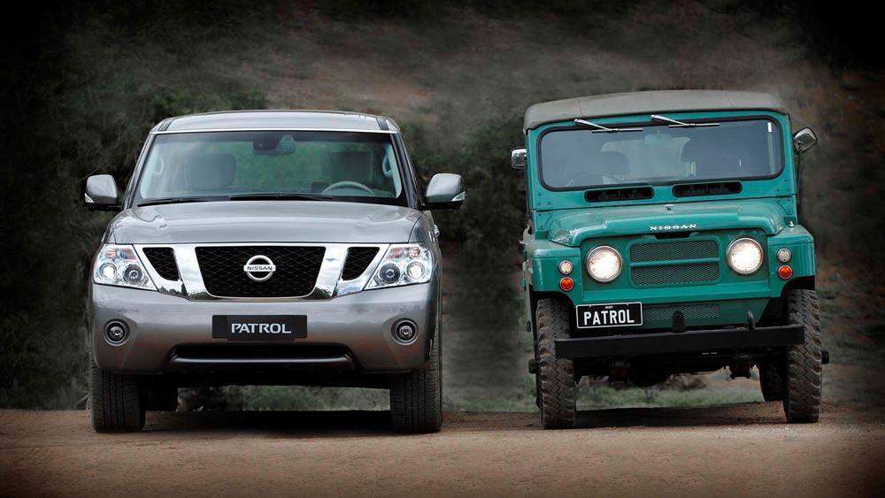 To Nissan Patrol γιορτάζει τα 70 χρόνια του