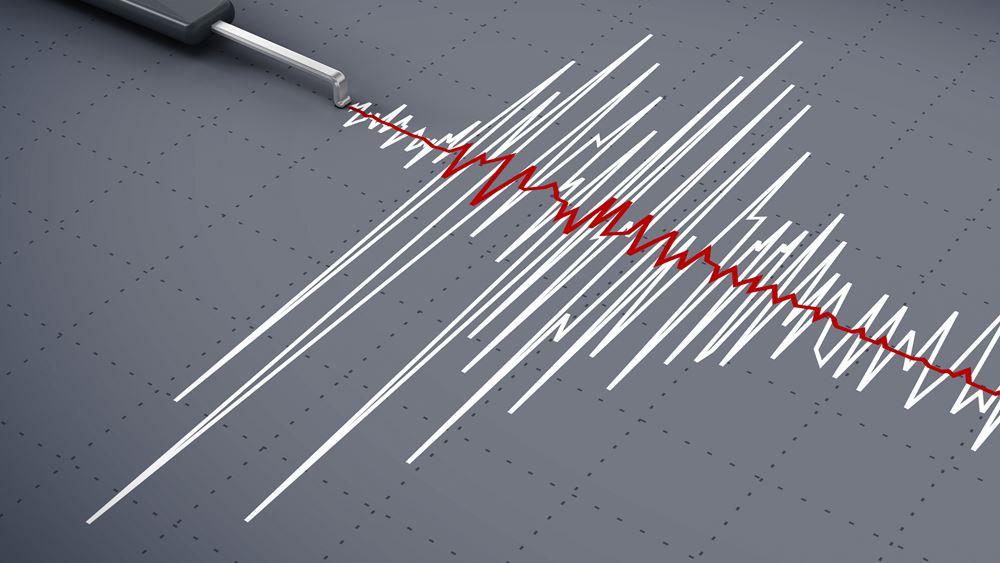 Σεισμική δόνηση μεγέθους 4,7 βαθμών της κλίμακας Ρίχτερ στη δυτική Ελλάδα