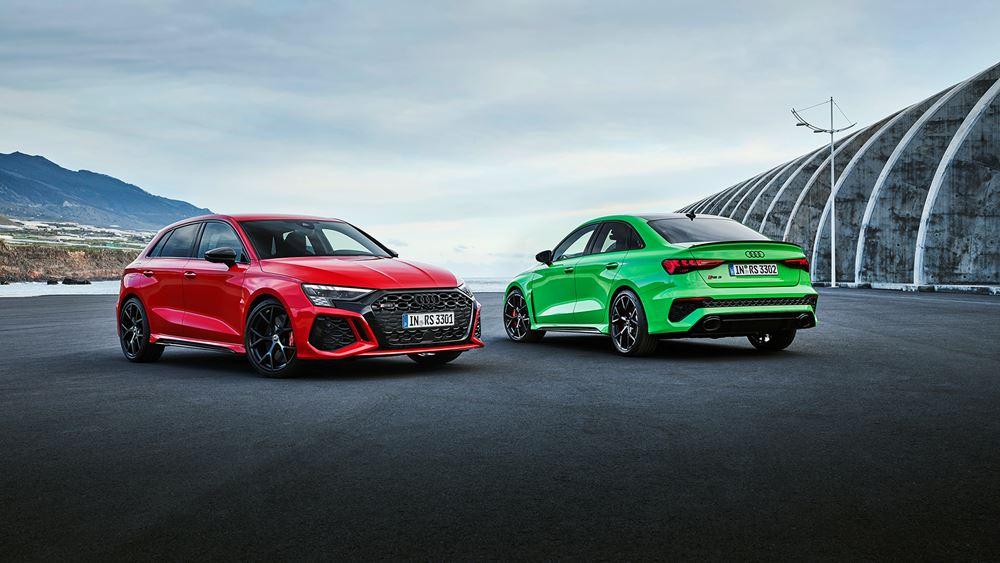 Επίσημη πρεμιέρα για το νέο Audi RS 3